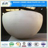 半球の圧力容器のための球のヘッドによって形作られるヘッド
