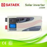 Inversor solar da onda de seno DC/AC do indicador da alta qualidade 1500W LCD
