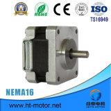 Nema 16/39*39 1.8 grados motor de pasos de 2 fases con el conector