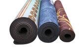Экстренно толщиной циновка йоги тренировки 3mm 5mm Pilates с напечатанной конструкцией