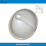 Cupcのベストセラーの浴室のUndermountの陶磁器の容器の流し(SN005)