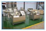 Coupeur électrique automatique de cuvette d'acier inoxydable pour le boeuf végétal de fruits de mer avec du ce