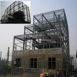 Edificio pre fabricado de acero de la estructura con Niza diseño