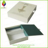Forma libro Libro Blanco de embalaje plegable Imán Box