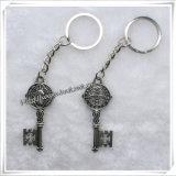 Neues kundenspezifisches preiswertes Metallfromme Schlüsselkette (IO-ck069)