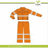 주황색 Protective Coverall 또는 Work Overall/Work Coverall Uniforms Industrial (F104)