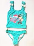 Swimwear девушки симпатичный, конструкция шаржа, популярный тип