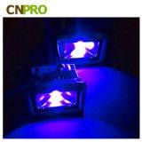 illuminazione UV impermeabile ultravioletta del proiettore 360nm 365n 390nm 405nm di 10W 20W 30W 50W 10W 150W 500W 200watt LED Blacklight