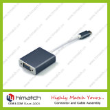 Type d'USB 3.1 mâle de C au câble de femelle du VGA