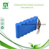 18650 22.2V 2200mAh Li-Ionbatterie-Satz für Roller