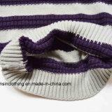 Maglione a strisce lavorato a maglia del pullover dei ragazzi
