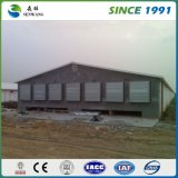 Entrepôt métallique à structure en acier léger à la pierre à haute qualité