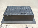 En124 B125 Light Duty Square Manhole Cover con l'idraulica Closing