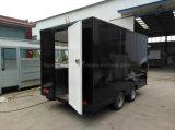 Трейлер Van еды улицы нестандартной конструкции обслуживания OEM Actory для сбывания Европ
