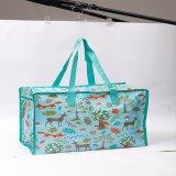 新しいデザイン多彩な印刷されたキャンバスの折るキャリアのショッピング・バッグ