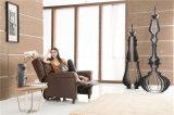 Muebles de cuero del sofá de Italia del ocio (791)