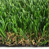 Preiswertere sicherere haltbare Garten-Dekoration-synthetisches Gras (AMU424-30L)