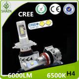 H4 LED Auto-Scheinwerfer 6000lm 6500k alle in einem