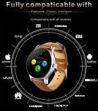 Ios와 인조 인간 전화를 위한 심박수 모니터 Mtk2502 Bluetooth K88h 지능적인 시계