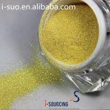 Vario material metalizado del animal doméstico del brillo del color polvo