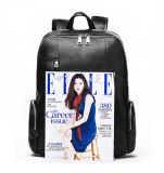 Backpack мешка компьтер-книжки кожи с сохранённым природным лицом верхней части низкой цены хорошего качества для людей