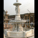 Fontana bianca Mf-152 di Carrara della fontana della pietra della fontana della fontana di marmo del granito