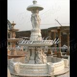 Marmeren Fontein mf-152 van Carrara van de Fontein van het Graniet van de Steen Witte