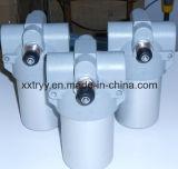 Filtro in-linea idraulico che mette il filtro in una cassa da sinterizzazione dell'acciaio inossidabile