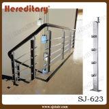 304/316 de corrimão inoxidável da escada da barra de aço/balaustradas do balcão (SJ-623)