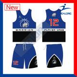 O projeto o mais atrasado da camisola dos uniformes do basquetebol do costume