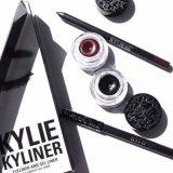 Kylie Kyliner VerfassungEyeliner mit Gel u. tragen die 5 Farben-Mischungs-Farben-kosmetischen Augen-Zwischenlage-Installationssatz auf