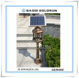 Bobina ligera solar del mosquito de la protección del medio ambiente del desvío LED del mosquito
