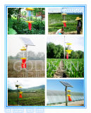 Agricultura Insecto voador / Pest Trap Killer Lamp, Solar Powered, Green, Fabricante