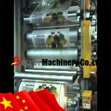 液体のBag Flexo Printing Machine Load WaterおよびJuice