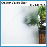 Tempered Helado Glass /Acid Etched Tempered Shower con Ce