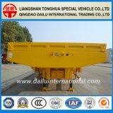 Transporte de contenedores de suspensión neumática de 5 ejes Lowboy Semitrialer