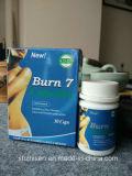 El 100% Burn7 natural ayuna las cápsulas de la pérdida de peso