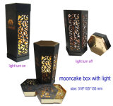 Varia caja de regalo de papel atractiva de Mooncake