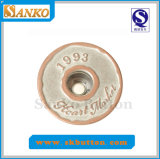 Alloy Jeans Button with Customized Logo