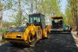 Shantui 상표 Sr22m 판매를 위한 진동하는 도로 롤러