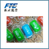 Förderung-kundenspezifische preiswerte Acrylschlüsselkette