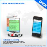 SMS APP-Steuerträger GPS G/M Einheiten, web-basiert Plattform-Funktion aufspürend