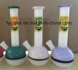 Conduites d'eau de fumage colorées américaines en verre pour le tabac