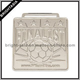 2015 premio Sports Souvenir Metal Medal con Ribbon/Football Sports Medal (BYH-10846)