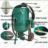 De betrouwbare Apparatuur van het Zandstralen van de Verrichting van Prestaties Gemakkelijke Natte met Micromotor Handpiece en de Collector van het Stof