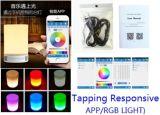 Heißer verkaufenAll-in-1 drahtloser Bluetooth 4.0 Portable-Lautsprecher mit LED-Kopfende-Lampe
