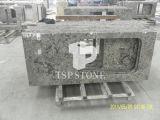 Bancada natural do granito para a cozinha & o banheiro (branco de Aran)