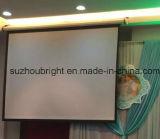 Scherm van uitstekende kwaliteit van de Projectie van de Schermen van de Projectie van het Scherm van de Projector het Elektrische