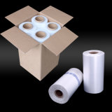 Film de roulis de empaquetage transparent blanc