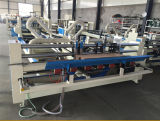 Pliage de cartons ondulé complètement automatique de papier cartonné et collage faisant la machine